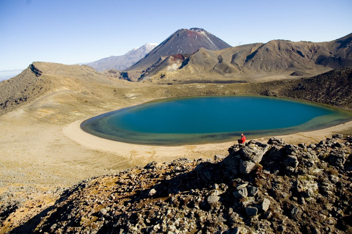 The Tongariro Crossing