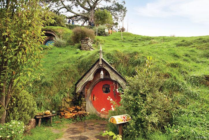 New Zealand's famous Hobbiton