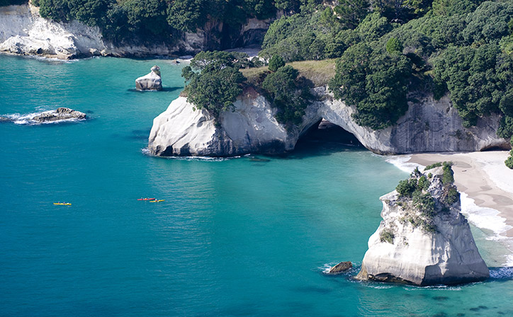 Cathedral Cove Classic Sea Kayaking Tour