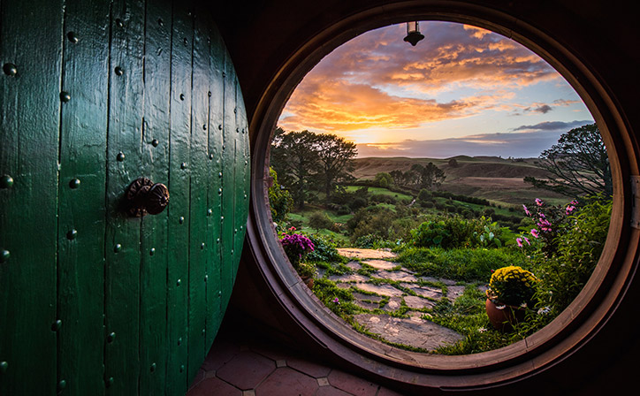 Image result for hobbiton view