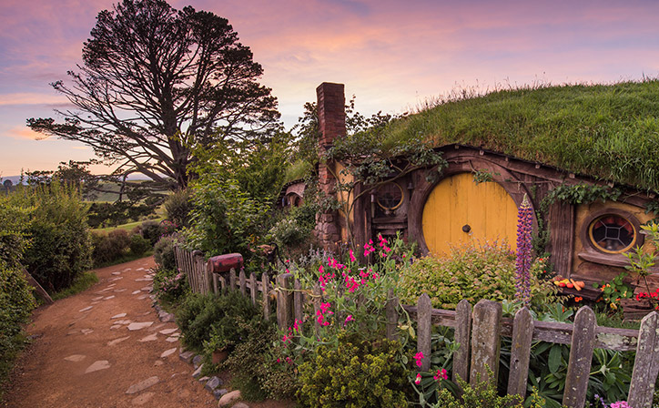 Slikovni rezultat za hobbiton movie set