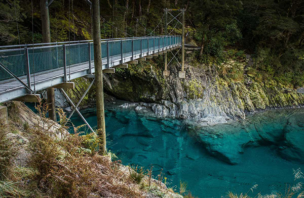 Blue Pools at Mt Aspiring