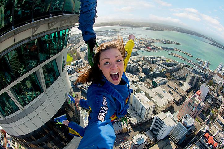Auckland's SkyJump