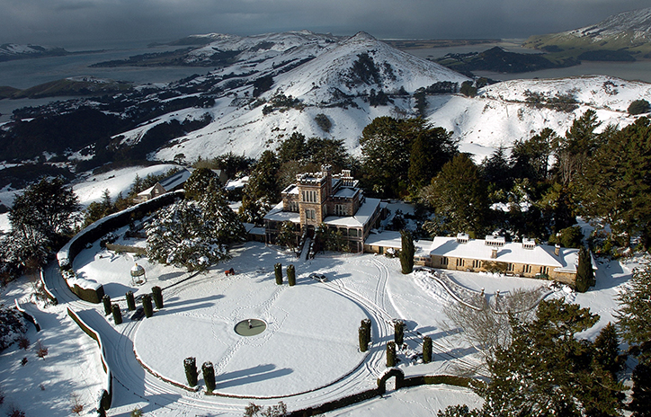 Larnach Castle in the Winter
