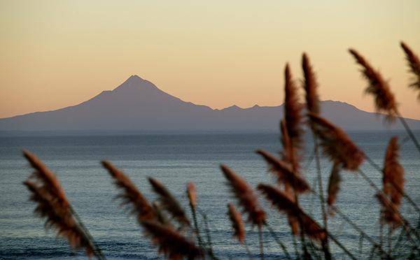 Mt Taranaki Sillhouette