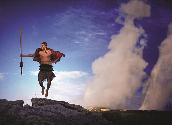 Maori Warrior at Te Puia